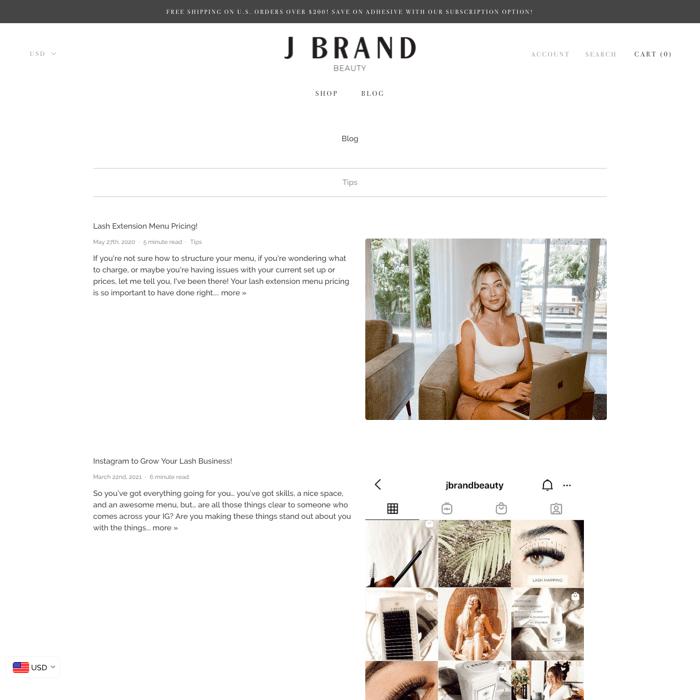 J Brand Beauty
