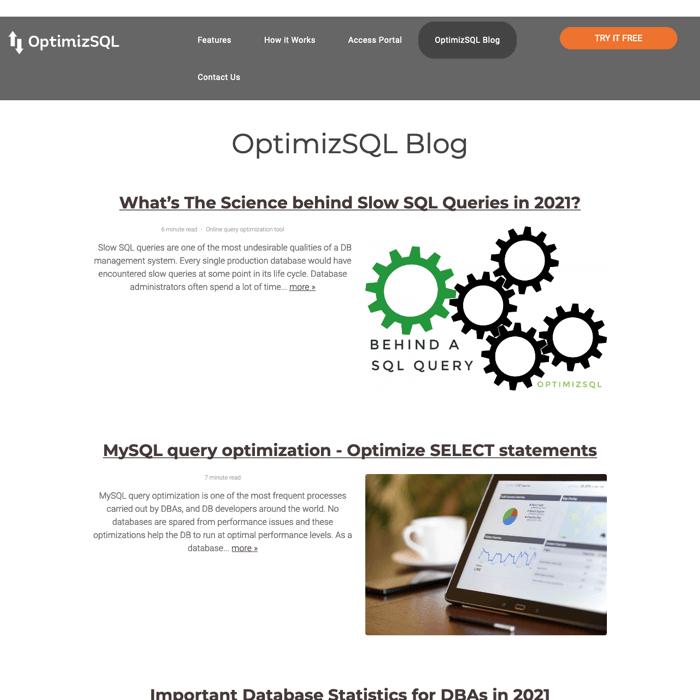 OptimizeSQL