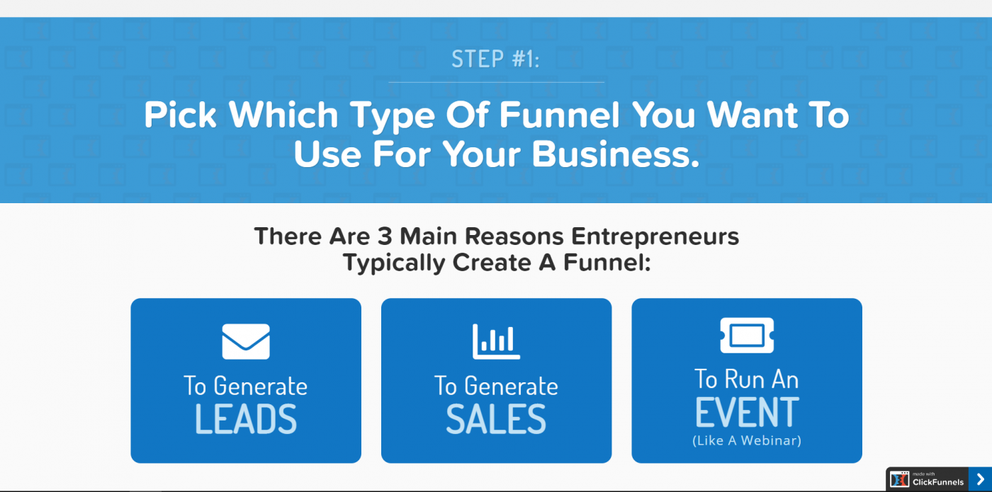 ClickFunnels sales funnel