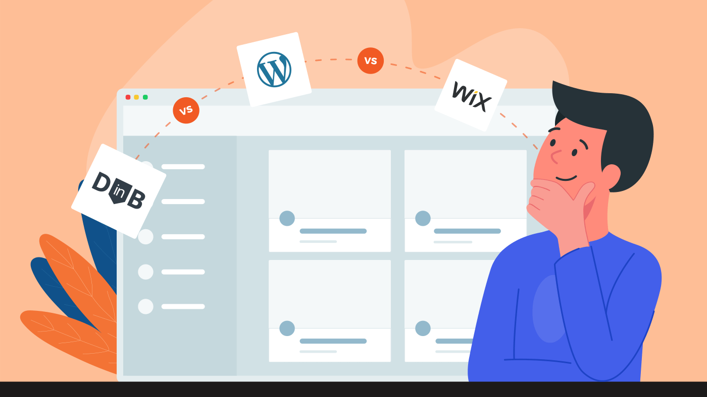 blogging on thinkific vs Wix vs Wordpress
