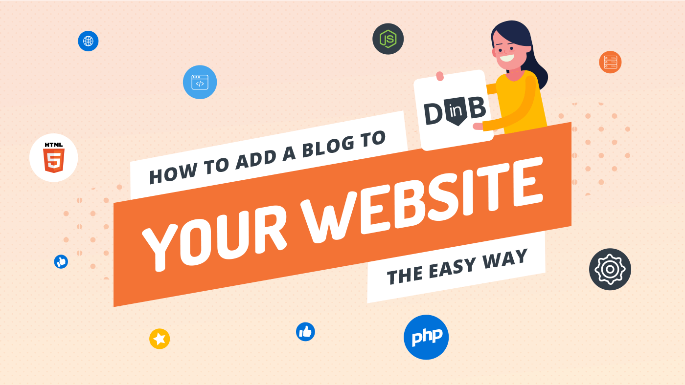 How to add a blog to your website the easy way