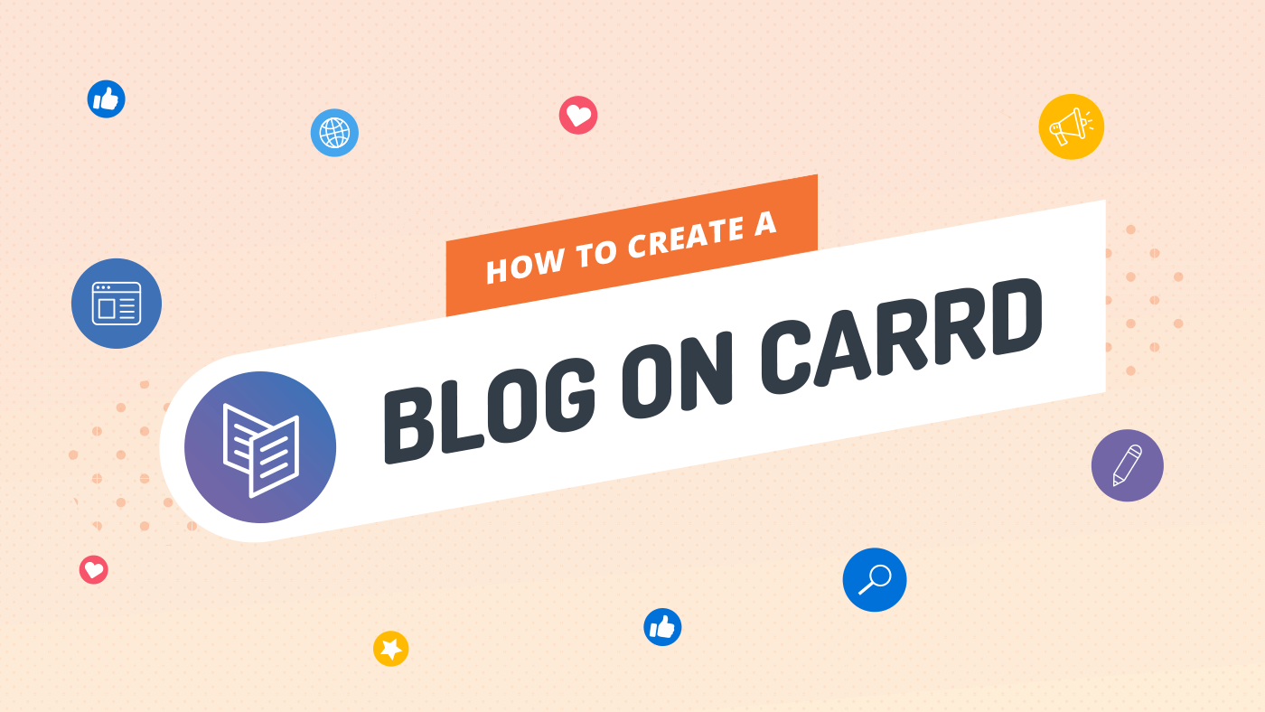 How to Create a Blog on Carrd