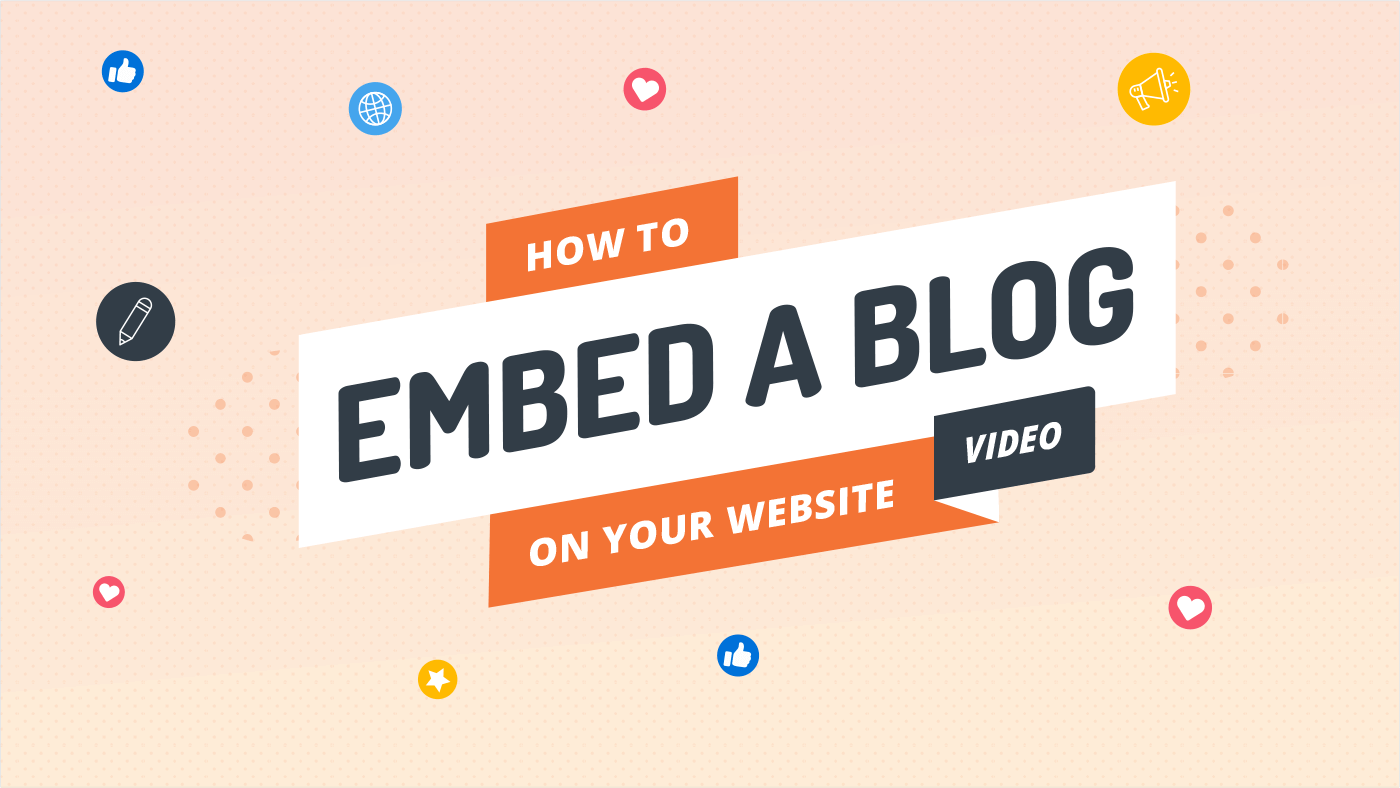 How to embed a blog on your website (video)