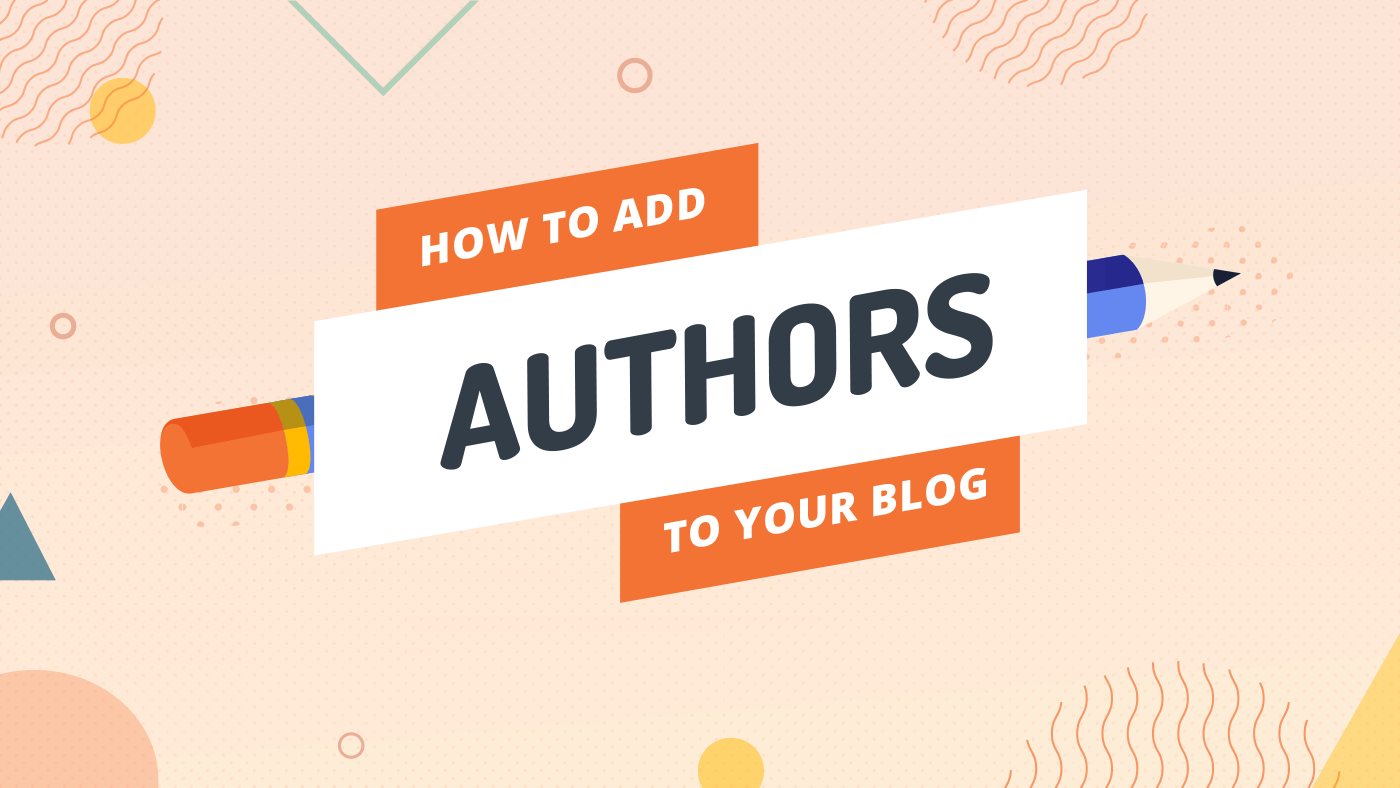 How to add authors to your blog on DropInBlog