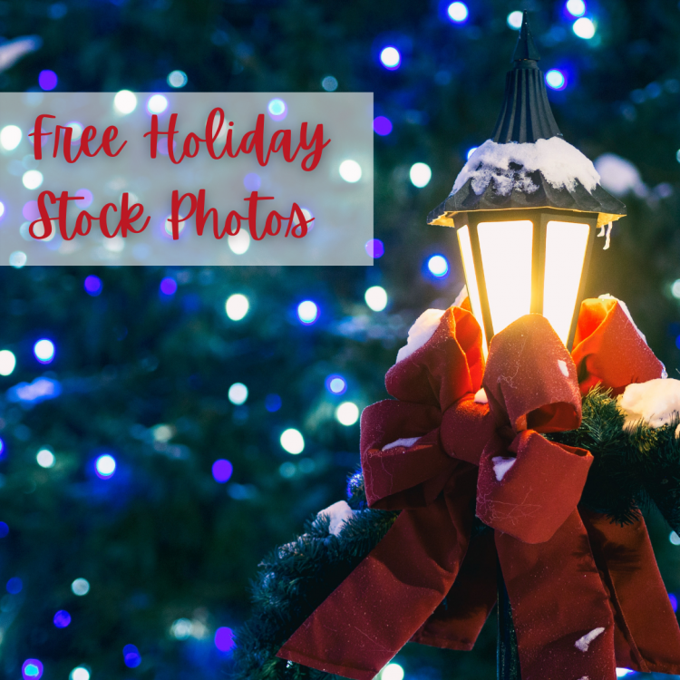 Free Holiday 2020 Stock Photos for Social Media Posts, Blogs, and more!