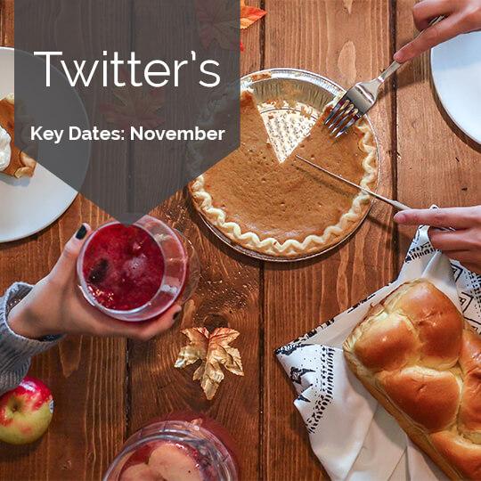 Key Dates for Marketing on Twitter in November