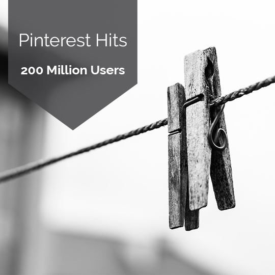 Pinterest Celebrates Hitting 200 Million Users