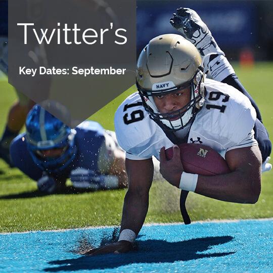 Twitter Key Dates for Marketing in September