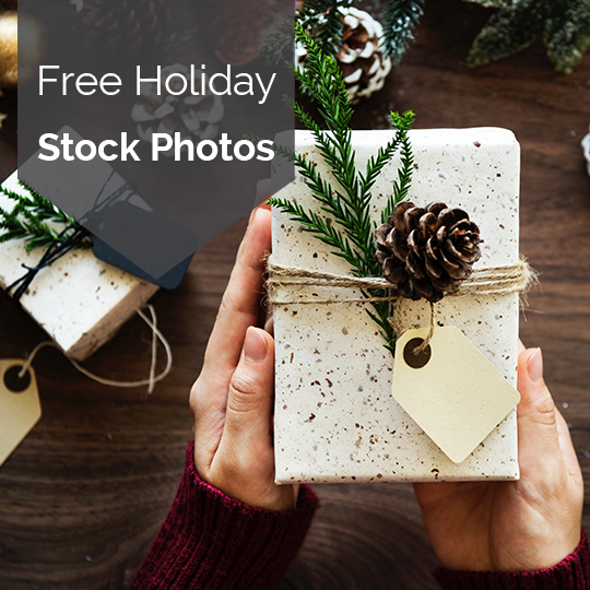 Free Holiday Stock Photos for Social Media, Blogs, Emails, and more!