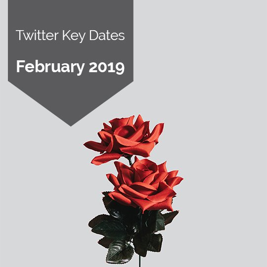 Key Dates for Marketing on Twitter in February 2019