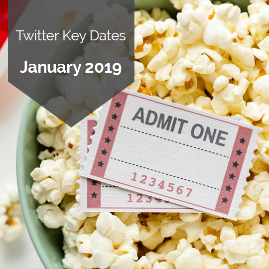 Key Dates for Marketing on Twitter in January 2019