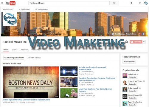 Video Marketing boston, massachusetts