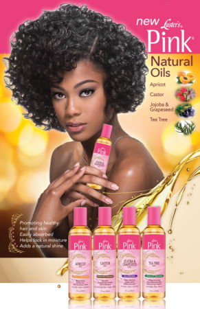 Introducing Luster's Pink Natural Oils Collection