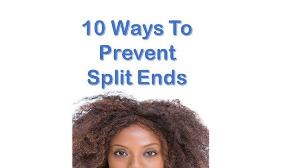 10 Easy Ways To Prevent Split Ends Pt.1