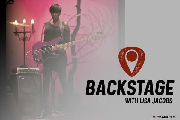 Backstage with Lisa Jacobs