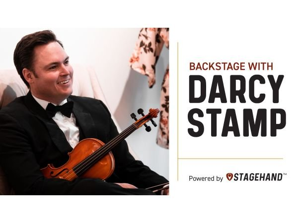 Backstage with Darcy Stamp