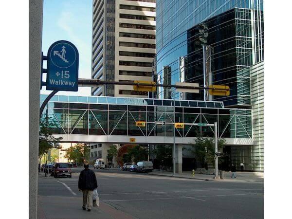 Calgary's +15 Walkway as a Music Venue?