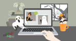 BizData October Newsletter - WFH Halloween Edition