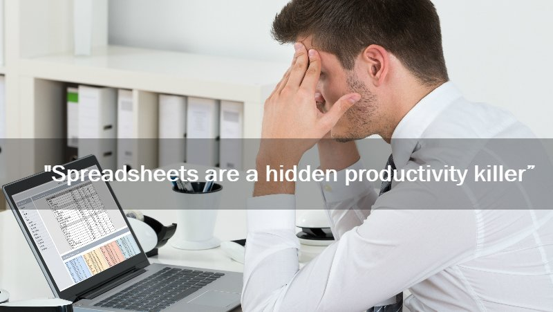 man upset over bad shadow it financial modelling spreadsheet
