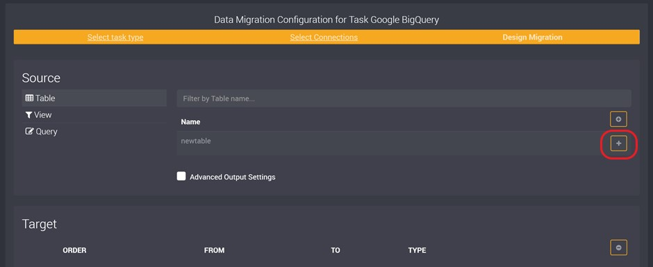 Importing Data from Google BigQuery