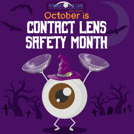October is Contact Lens Safety Month