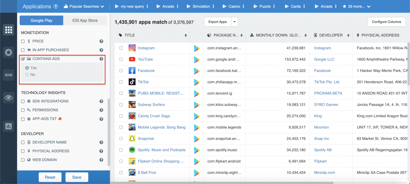 Contains ads app monetization insights.