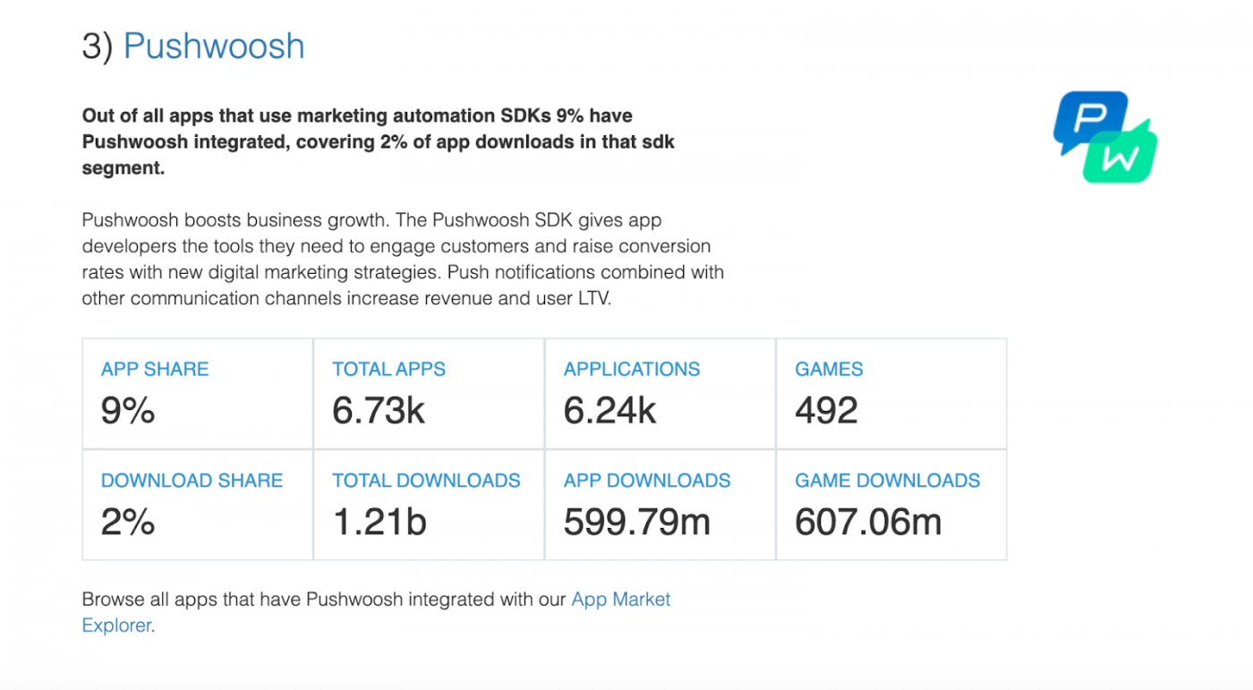 3 Top Marketing Automation SDKs — The State of the App Economy and App Markets in 2021
