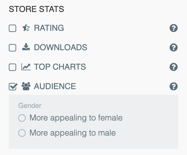 App audience insights from 42matters.