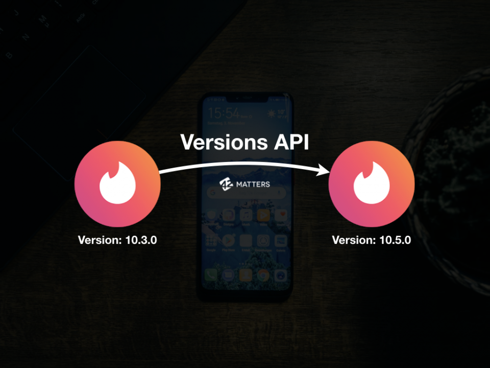 Versions History API for iOS and Android Apps
