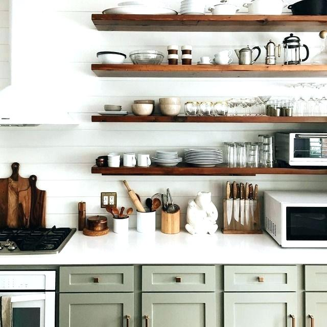 Scullery open shelf kitchen butler's pantry farmhouse cabinets
