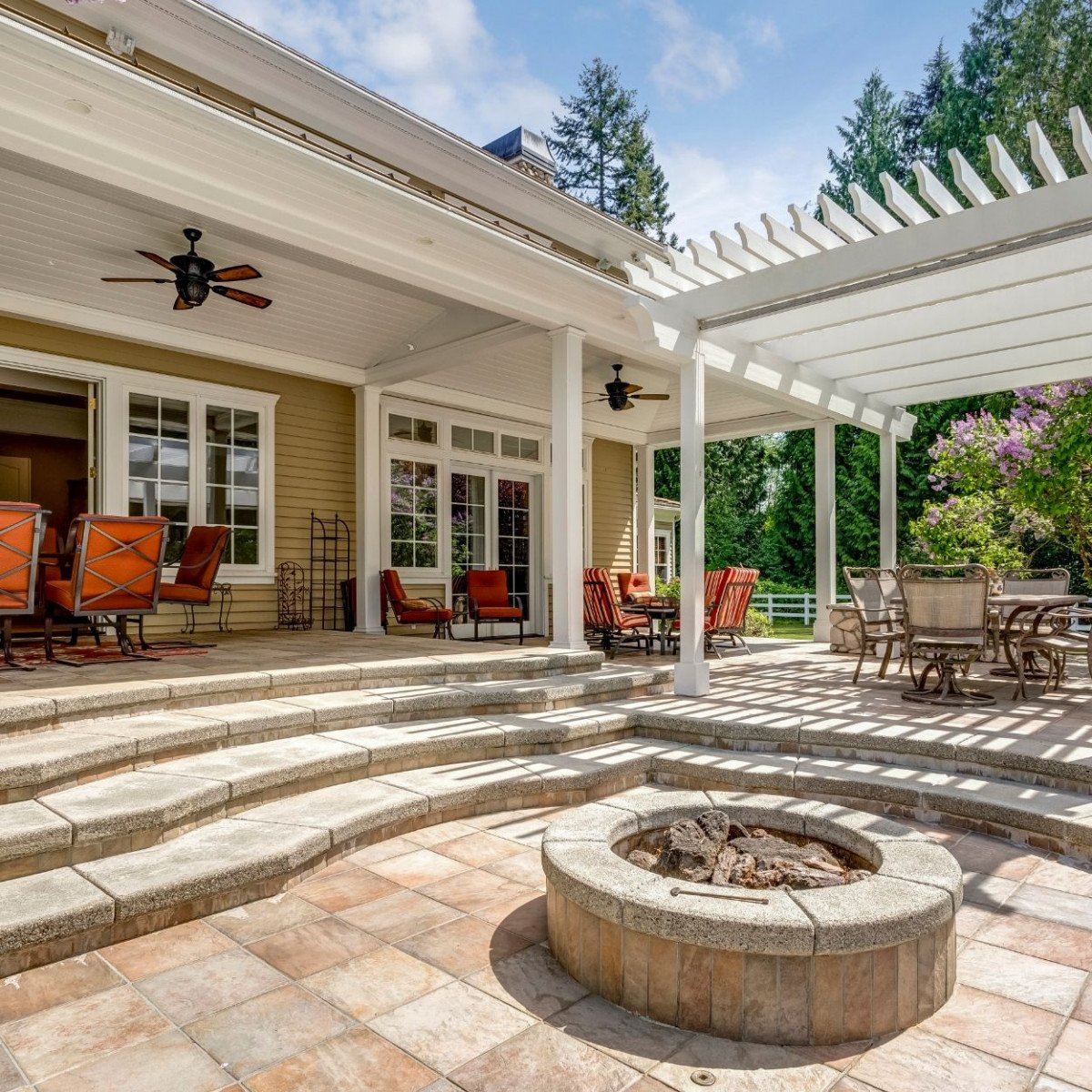 outdoor living space return on investment