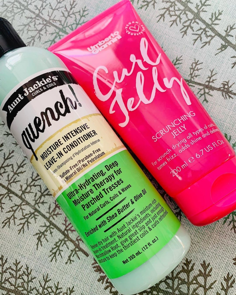 Ilona: Review Curl Jelly Gel (Umberto Giannini) en Quench (Aunt Jackie's)