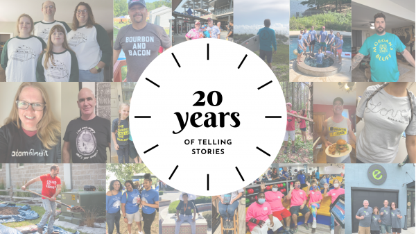 20 Years of Telling Stories