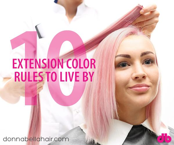 10 Extension Color Rules to Live By