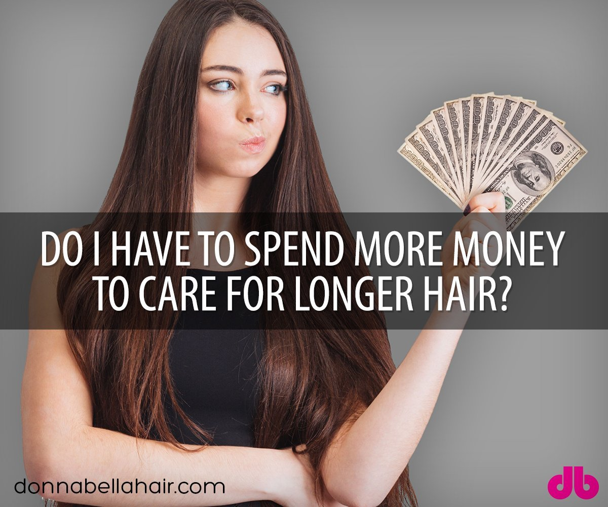 Do I Have to Spend More Money to Care for Longer Hair?
