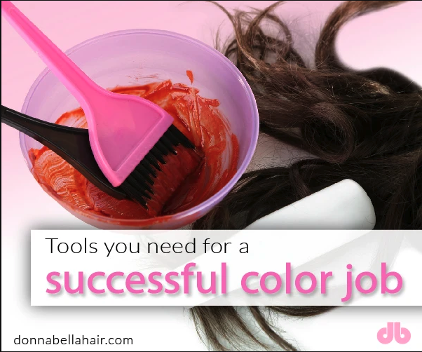 All the Tools You Need For a Successful Color Job