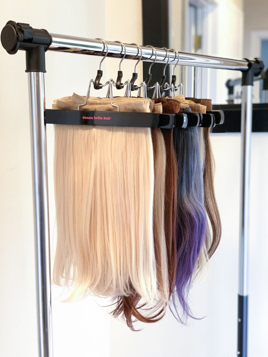 All About Clip-In Hair Extensions
