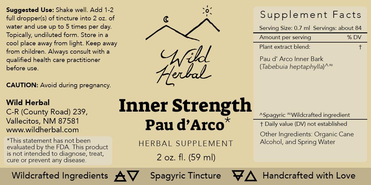 Inner Strength Pau d'Arco