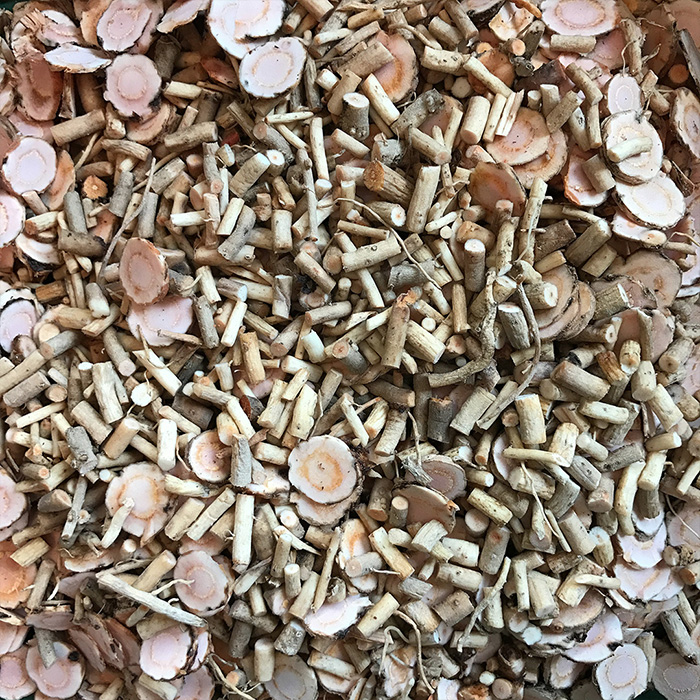 Yerba Mansa chopped roots