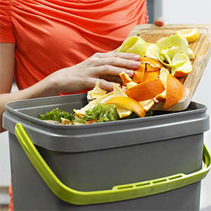 add kitchen waste once a day