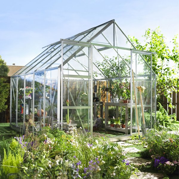 Horticultural Glass . . . and with its benefits to the greenhouse gardener
