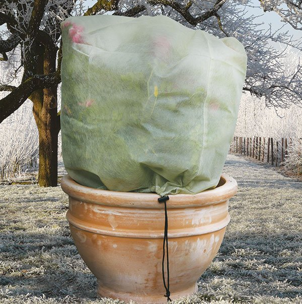 Easy Fleece Plant Jackets . . . Instant Plant Protection