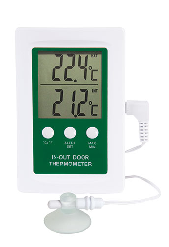 Digital Indoor Outdoor Thermometer With Alarm