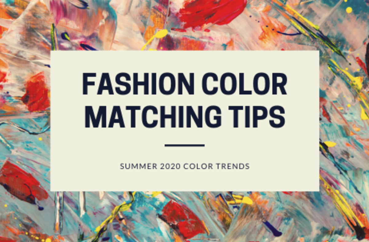 Fashion color matching tips | 2020 summer fashion colors