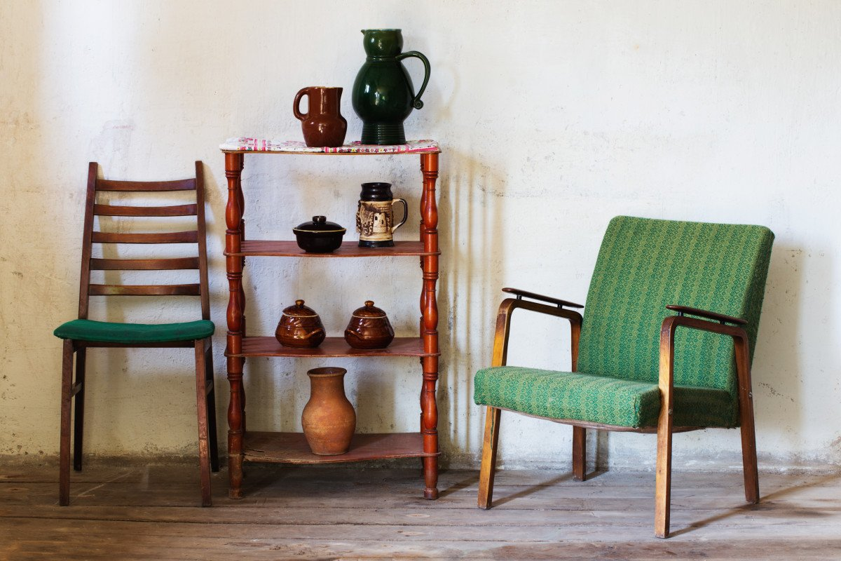 Refinishing Thrift Store Furniture With WOCA Woodcare Products.
