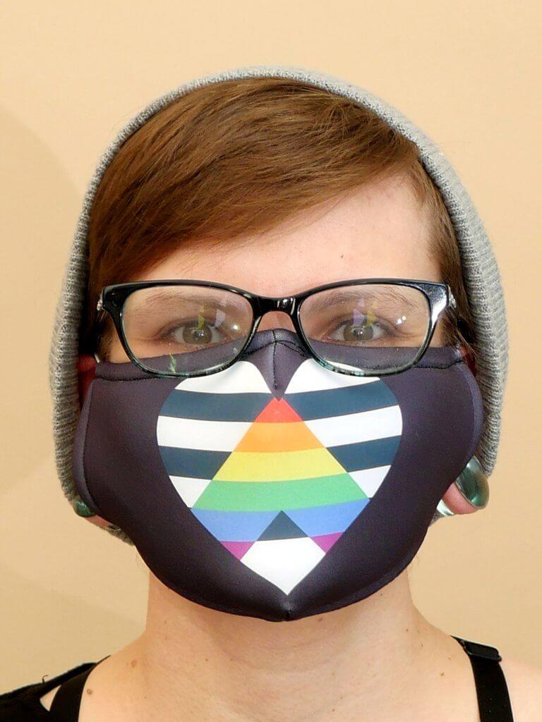 Ally Flag Mask