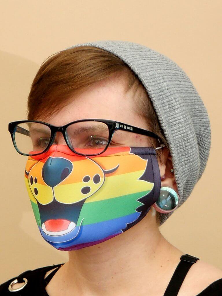 Pride Flag Mask LGBTQ+