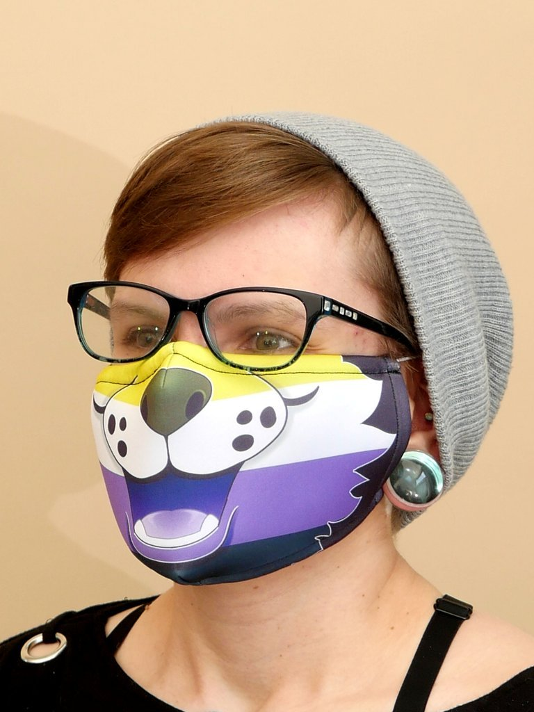 NonBinary Flag Mask