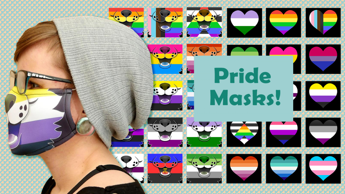 NEW Pride and Animal Muzzle Masks
