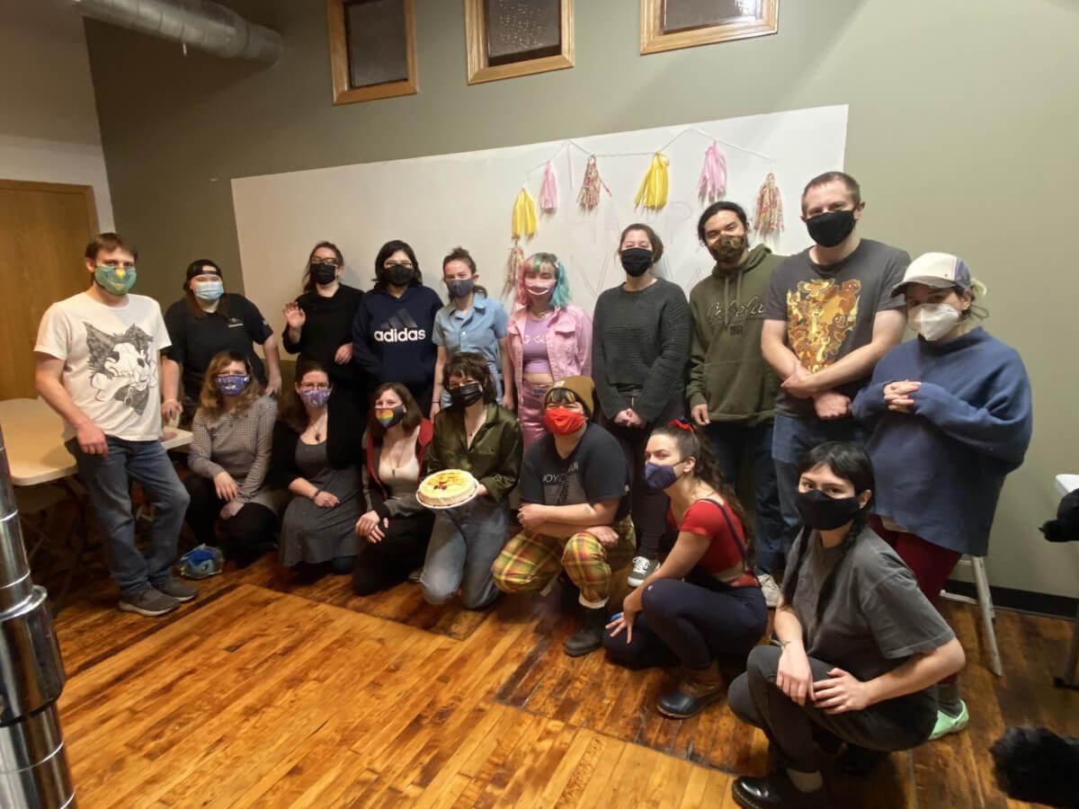 Team Lemonbrat group photo